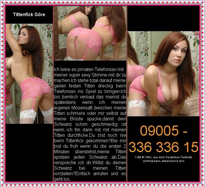 Tittenfick Telefonsex