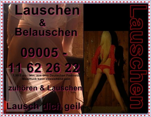 Telefonsex lauschen & Erotik
